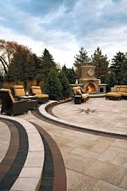 Unilock Patio Designs by 36 Best Homeowner Fireplaces U0026 Fire Pits Images On Pinterest