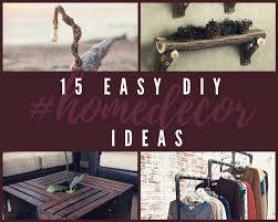 Easy Home Projects For Home Decor 15 Diy Projects For Home And Garden Top Do It Yourself Projects