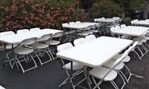 Renting Folding Chairs Chair Rentals White Chair Los Angeles Ca Big Blue Sky Party