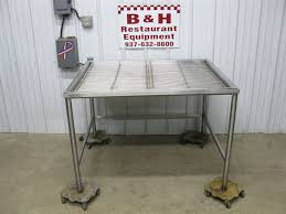stainless steel prep table with sink win holt 48 x 40 stainless steel prep butcher drain table sink 4