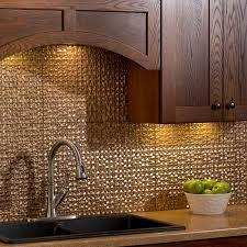 Copper Backsplash Tiles For Kitchen Kitchen Dining Metal Frenzy In Kitchen Copper Backsplash Ideas