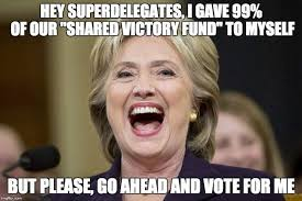 Victory Meme - was nh democrat party in on hillary victory fund deception