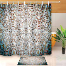 paisley moroccan shower curtains ebay