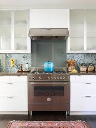 stylish backsplash pairings paisley wallpaper kitchen