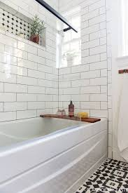 subway tile bathroom ideas 25 best ideas about subway simple modern subway tile bathroom