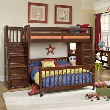 Make Wooden Loft Bed by 24 Designs Of Bunk Beds With Steps Kids Love These
