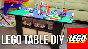 Diy Lego Table by How To Make A Lego Table For Under 50 Diy Youtube