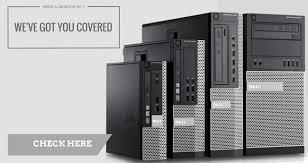 Desk Top Computers On Sale Refurbished Computers Reconditioned Desktop Pc S