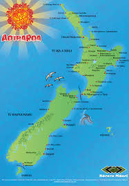 A Place Nz Māori Placenames Map Nzhistory New Zealand History