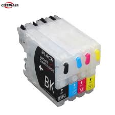brother printer mfc j220 resetter cissplaza lc39 lc985 lc60 lc975 refillable ink cartridge compatible