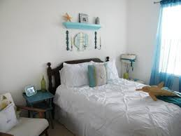 bedroom having a getaway with beach themed bedroom harmony for home