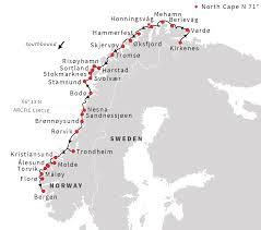 Map Of West Coast Scandinavia