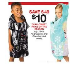 black friday 15 at target all character and circo hooded towels deal at target black friday sale
