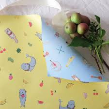 sided wrapping paper fruitopia sided wrapping paper v by vie