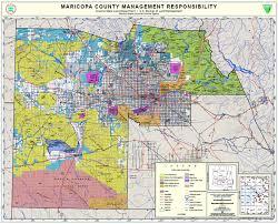 us map arizona state paper maps arizona state land department