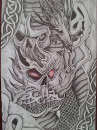 skull and design by cassandrawilson on deviantart