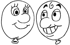 balloon coloring pages coloring pages for kids to print last additions balloon faces