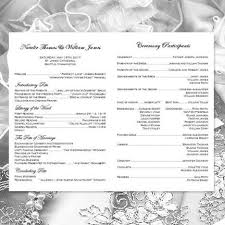 catholic mass wedding programs catholic church wedding program vienna black white wedding