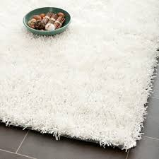 Area Rugs White Safavieh Tufted Silken White Shag Area Rugs Sg531 1111