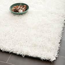 ebay area rugs safavieh hand tufted silken off white shag area rugs sg531 1111
