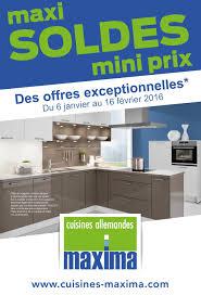 cuisines en soldes maxi soldes mini prix pour les cuisines maxima