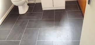 Perfect Vinyl Bathroom Flooring  Challenger Stone Tile Effect - Bathroom vinyl