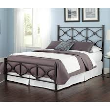marlo iron bed in burnished black humble abode