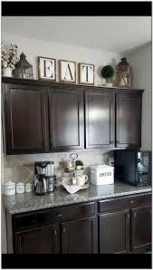 top kitchen cabinets decor rustic farmhouse decor above kitchen cabinets decoomo