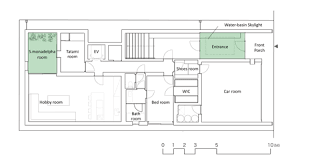Glass House Floor Plans Optical Glass House By Hiroshi Nakamura U0026 Nap