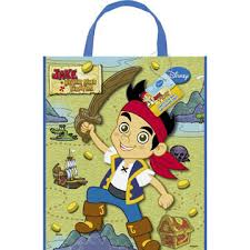 bulk birthday tote bags party supplies jake neverland pirates