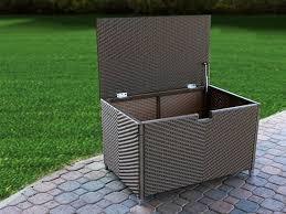 Suncast Patio Storage Bench Backyard Storage Bins Home Outdoor Decoration