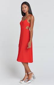 cut out dress cutout dress crinkle stretch show me your mumu