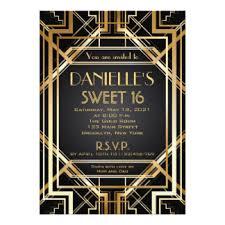 gatsby invitations great gatsby invitations announcements zazzle