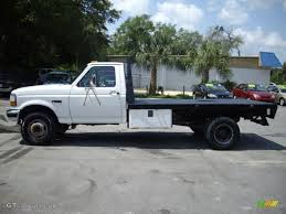 97 Ford F350 Truck Bed - 1997 oxford white ford f350 xl regular cab dually chassis flat bed