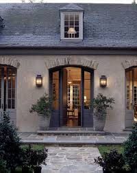 i love this look french country old stone brick trim above