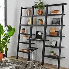 Ladder Bookcase Desk Combo Ladder Desk Ebay