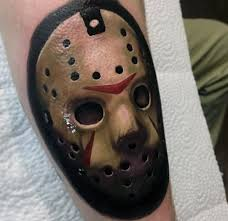 Jason Mask 60 Jason Mask Tattoo Designs For Men Friday The 13th Ideas
