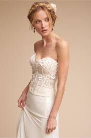 wedding corset maryna corset top ivory in sale bhldn