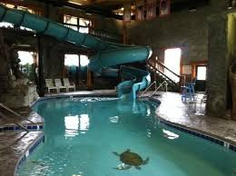the indoor pool and waterslide picture of riverchase motel