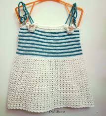 crafts for summer crochet cute top dress for baby craft ideas