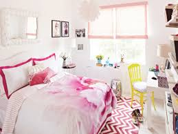 bedroom sweet white and pink teenage bedroom ideas with pink