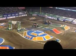 monster truck jam anaheim angel stadium anaheim 2 13 16 monster jam monster truck youtube