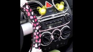 girly cars 2016 interior car accessories for girls exciting and beautiful youtube