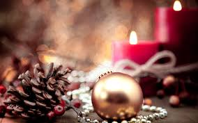 lovely holiday candles wallpaper 6801572
