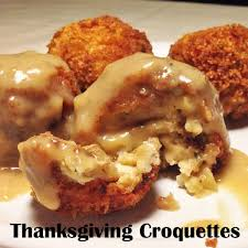 thanksgiving leftover recipes thanksgiving croquettes cheap