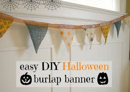 halloween fabric on sale emmy in her element diy halloween burlap banner