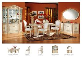 Dining Room Set With China Cabinet by Rosella Dining Room Set Comp 1 Dining Sets Esf Rosella Set 6 5