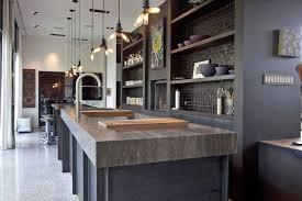 cuisine style usine deco cuisine americaine salle manger con ilot cuisine style