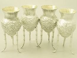 Silver Vases Best 25 Silver Vases Ideas On Pinterest Silver Centerpiece
