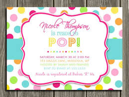 polka dot invitations polka dot party invitations cimvitation